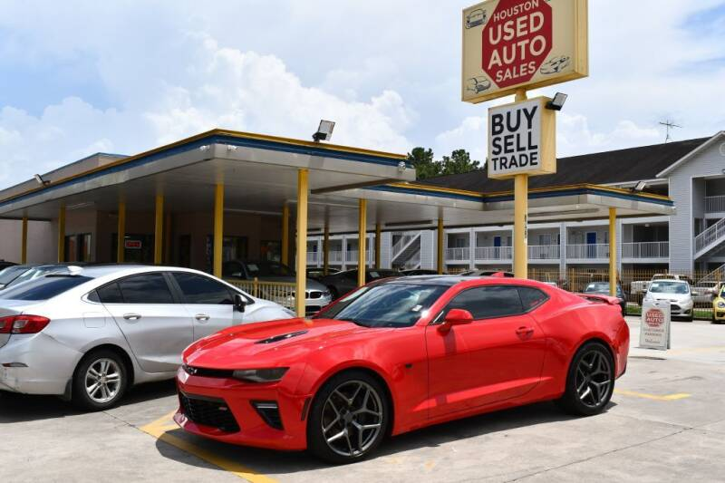 2016 Chevrolet Camaro for sale at Houston Used Auto Sales in Houston TX