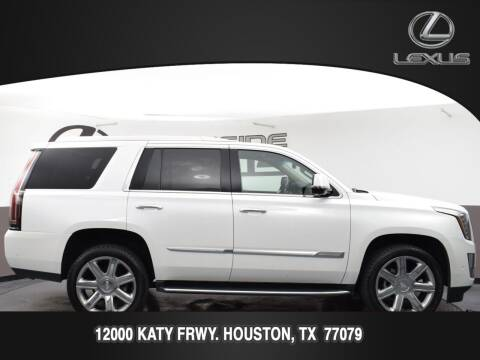 2018 Cadillac Escalade for sale at LEXUS in Houston TX