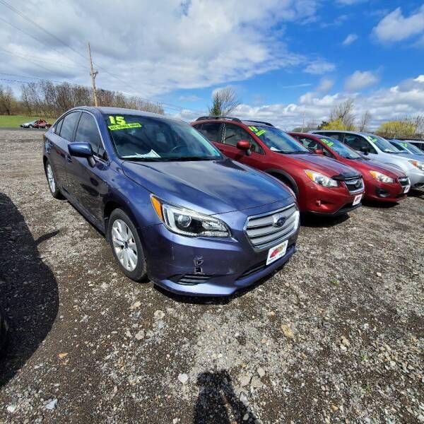 2015 Subaru Legacy for sale at ALL WHEELS DRIVEN in Wellsboro PA