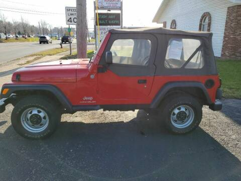 2004 Jeep Wrangler for sale at CRYSTAL MOTORS SALES in Rome NY