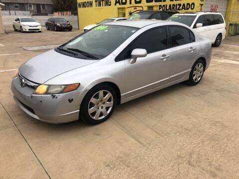 2008 Honda Civic for sale at D & M Vehicle LLC in Oklahoma City OK