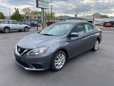 2017 Nissan Sentra for sale at New Start Auto in Richardson TX