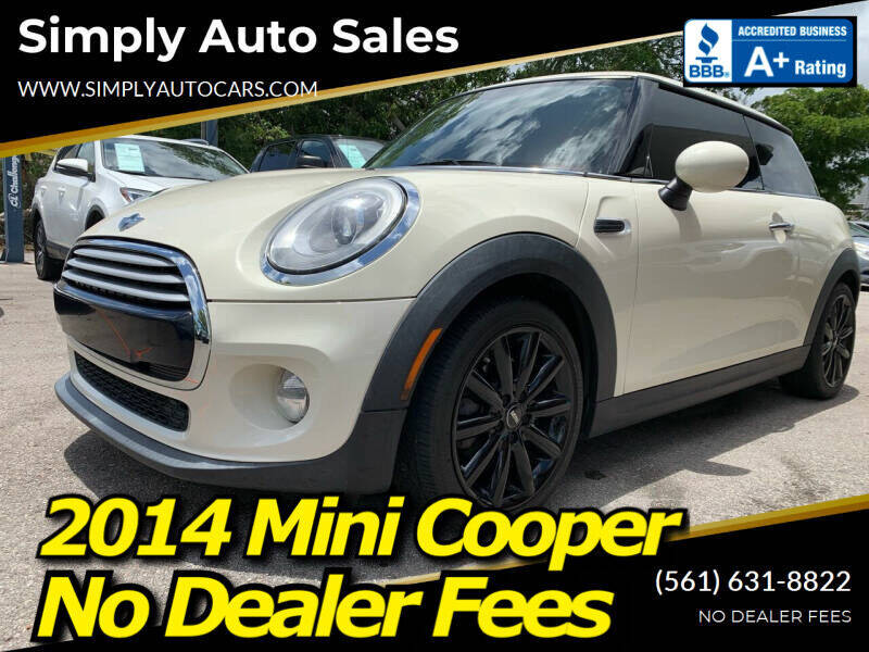 2014 MINI Hardtop for sale at Simply Auto Sales in Palm Beach Gardens FL