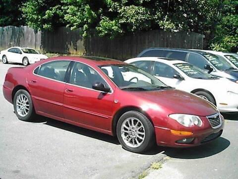 2002 Chrysler 300M for sale at S & R Motor Co in Kernersville NC