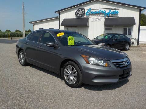 2012 Honda Accord for sale at Country Auto in Huntsville OH