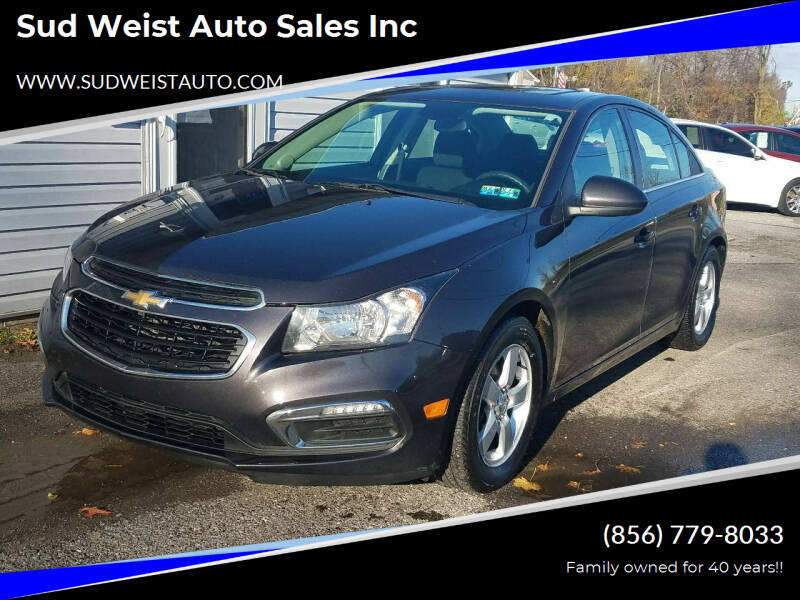 2016 Chevrolet Cruze Limited for sale at Sud Weist Auto Sales Inc in Maple Shade NJ