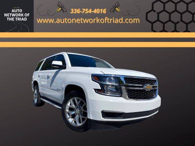2015 Chevrolet Tahoe for sale at Auto Network of the Triad in Walkertown NC