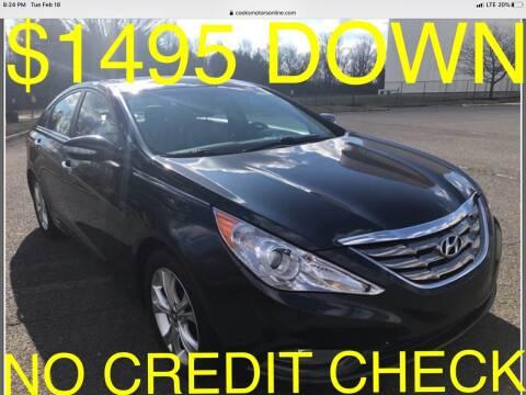 2011 Hyundai Sonata for sale at Cooks Motors in Westampton NJ