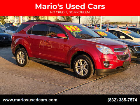2014 Chevrolet Equinox for sale at Mario's Used Cars in Houston TX