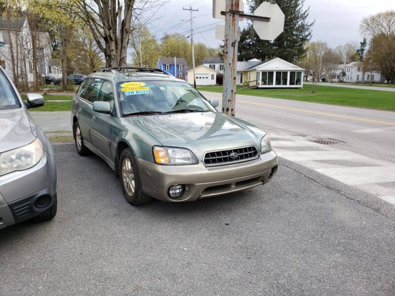2003 Subaru Outback for sale at York Street Auto in Poultney VT