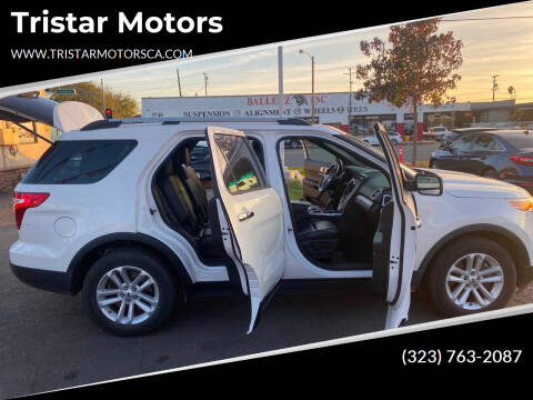 2014 Ford Explorer for sale at Tristar Motors in Bell CA