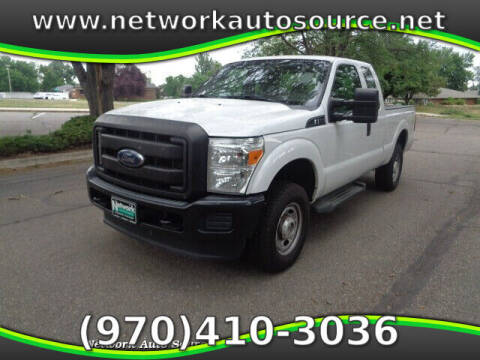 2015 Ford F-250 Super Duty for sale at Network Auto Source in Loveland CO