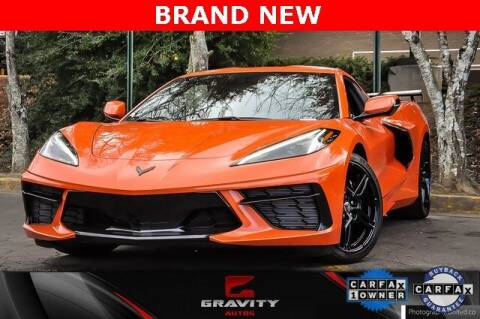 2021 Chevrolet Corvette for sale at Gravity Autos Atlanta in Atlanta GA