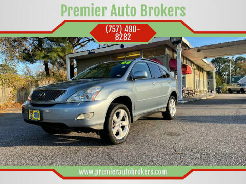 2005 Lexus RX 330 for sale at Premier Auto Brokers in Virginia Beach VA