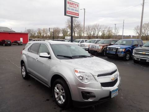 2015 Chevrolet Equinox for sale at Marty's Auto Sales in Savage MN