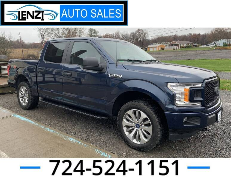 2018 Ford F-150 for sale at LENZI AUTO SALES in Sarver PA