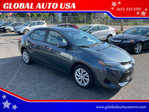 2018 Toyota Corolla for sale at GLOBAL AUTO USA in Saint Paul MN