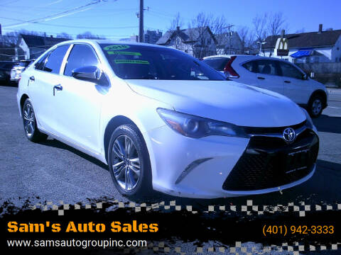 2015 Toyota Camry for sale at Sam's Auto Sales in Cranston RI