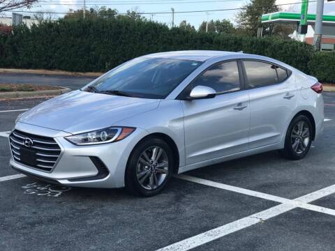 2018 Hyundai Elantra for sale at RUSH AUTO SALES in Burlington NC