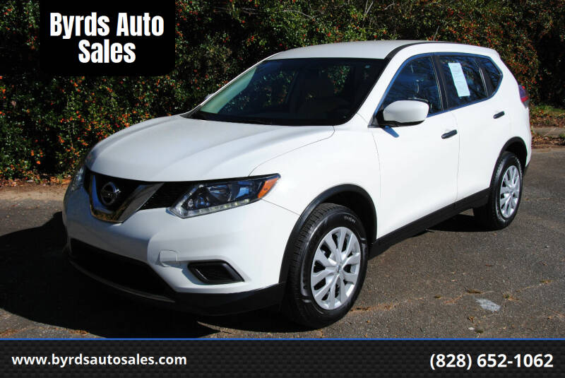 2016 Nissan Rogue for sale at Byrds Auto Sales in Marion NC