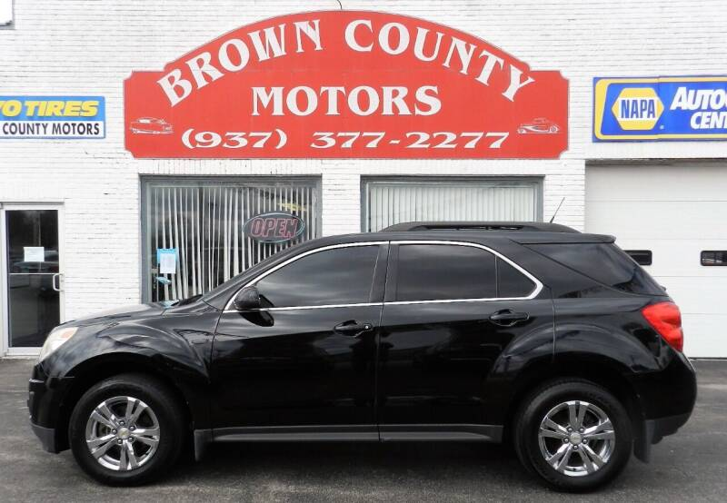 2011 Chevrolet Equinox for sale at Brown County Motors in Russellville OH