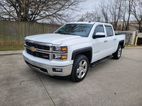 2014 Chevrolet Silverado 1500 for sale at Harold Cummings Auto Sales in Henderson KY