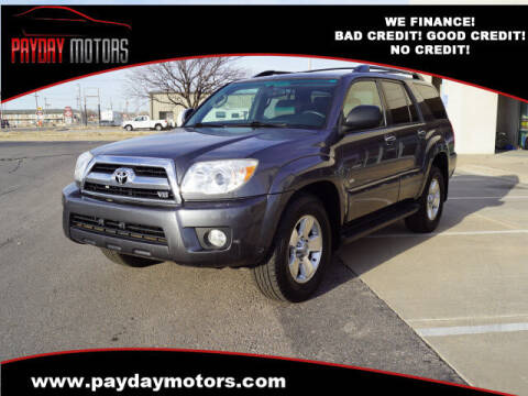 2006 Toyota 4Runner for sale at Payday Motors in Wichita And Topeka KS