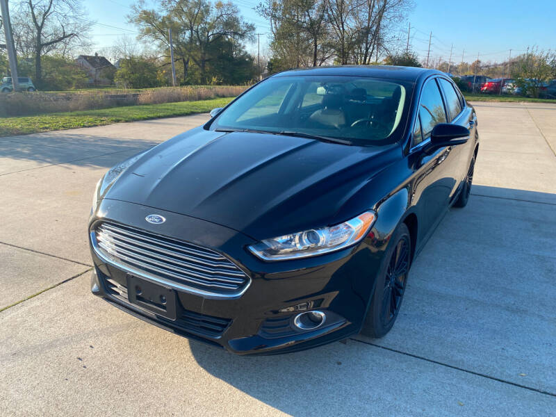 2016 Ford Fusion for sale at Mr. Auto in Hamilton OH