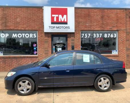 2005 Honda Civic for sale at Top Motors LLC in Portsmouth VA
