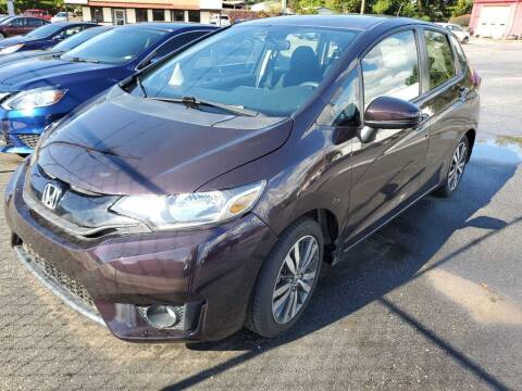 2017 Honda Fit for sale at THE TRAIN AUTO SALES & RENTALS in Taylors SC