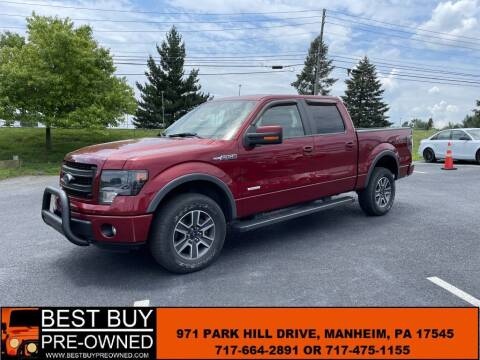 2014 Ford F-150 for sale at Best Buy Pre-Owned in Manheim PA