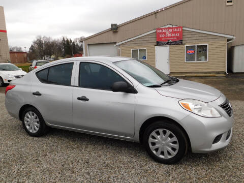2012 Nissan Versa for sale at Macrocar Sales Inc in Akron OH