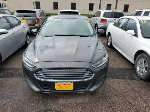 2015 Ford Fusion for sale at Brothers Used Cars Inc in Sioux City IA