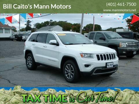 2014 Jeep Grand Cherokee for sale at Bill Caito's Mann Motors in Warwick RI