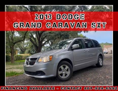 2013 Dodge Grand Caravan for sale at AFFORDABLE ONE LLC in Orlando FL