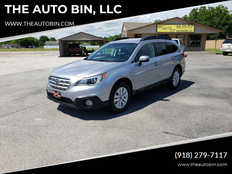 2015 Subaru Outback for sale at THE AUTO BIN, LLC in Broken Arrow OK