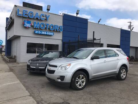 2015 Chevrolet Equinox for sale at Legacy Motors in Detroit MI