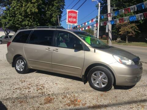2005 Toyota Sienna for sale at Antique Motors in Plymouth IN