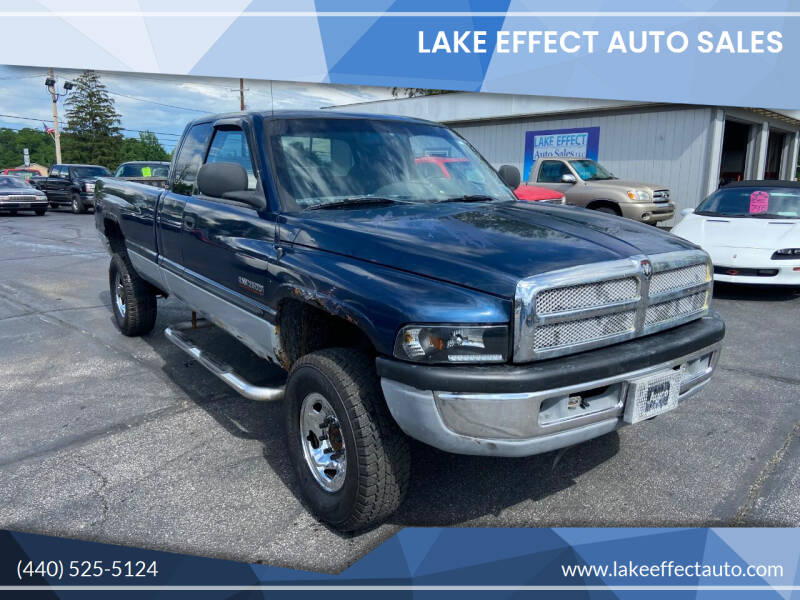 2000 Dodge Ram Pickup 2500 for sale at Lake Effect Auto Sales in Chardon OH