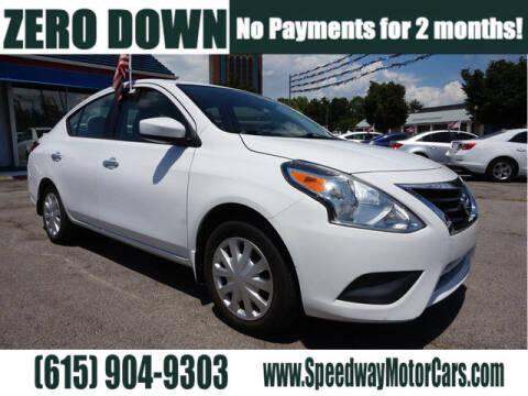 2016 Nissan Versa for sale at Speedway Motors in Murfreesboro TN