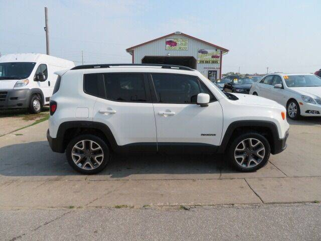2017 Jeep Renegade for sale at Jefferson St Motors in Waterloo IA