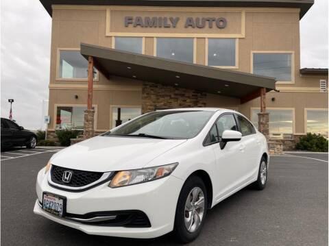 2014 Honda Civic for sale at Moses Lake Family Auto Center in Moses Lake WA