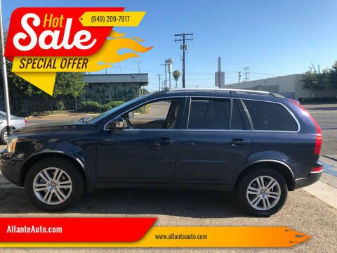 2012 Volvo XC90 for sale at AllanteAuto.com in Santa Ana CA