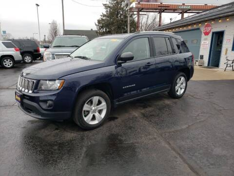 2016 Jeep Compass for sale at Advantage Auto Sales & Imports Inc in Loves Park IL