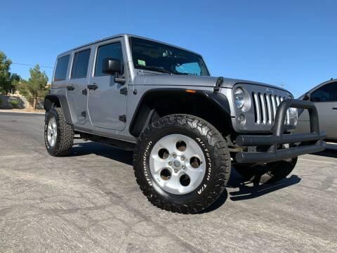 2015 Jeep Wrangler Unlimited for sale at Boktor Motors in Las Vegas NV