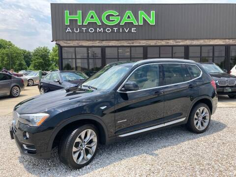 2016 BMW X3 for sale at Hagan Automotive in Chatham IL