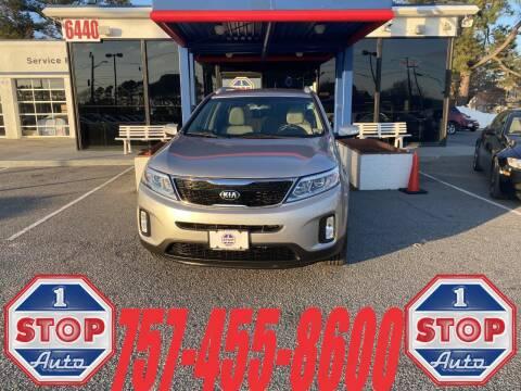 2014 Kia Sorento for sale at 1 Stop Auto in Norfolk VA