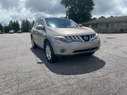 2010 Nissan Murano for sale at Hillside Motors Inc. in Hickory NC
