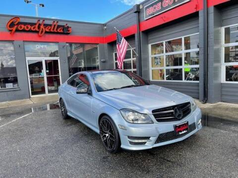 2013 Mercedes-Benz C-Class for sale at Goodfella's  Motor Company in Tacoma WA