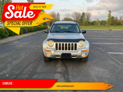 2004 Jeep Liberty for sale at CARLUX in Fortville IN